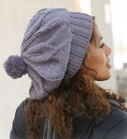 схемы вязания шапок спицами