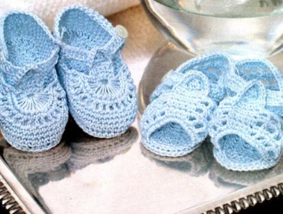 пинетки туфельки и сандалики крючком