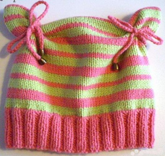 детские шапочки спицами