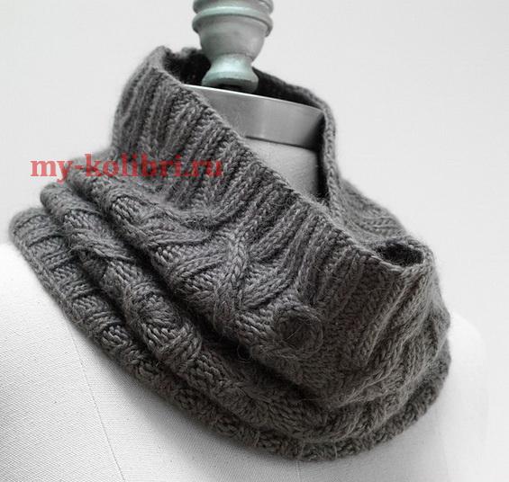 шапки и шарфы мужчинам схемы вязания с описанием