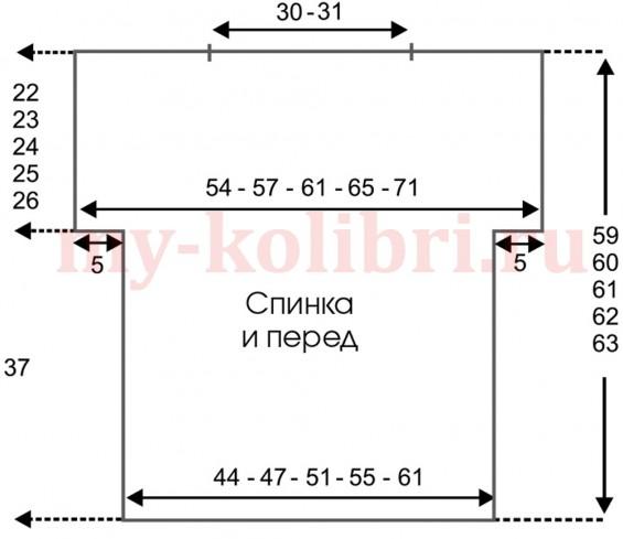 Черный топ крючком филейным узором_1