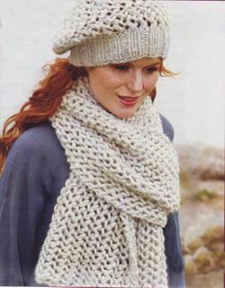 Вязание шарфа спицами схемы фото 19-708