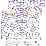 Рисунок 2. Схема вязания раппорта