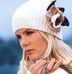 вязание-шапки-спицами