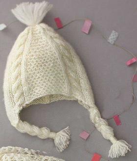 Детская шапочка спицами: схема и описание