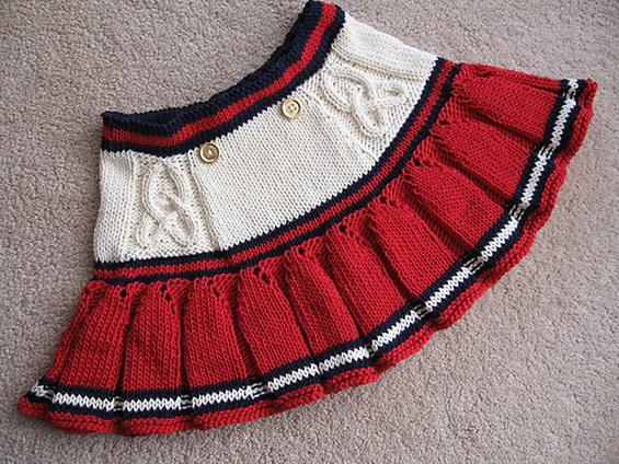 безрукавка и юбка по одной