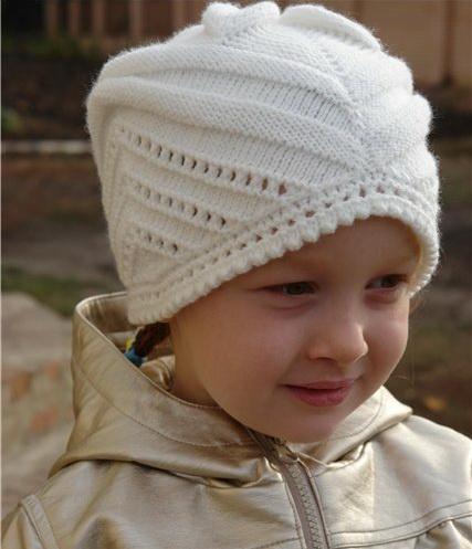 Схема вязания красивой шапочки