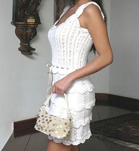 Летнее платье крючком «Grace»с