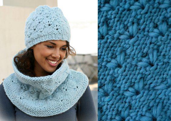 Вязание шапок спицами: