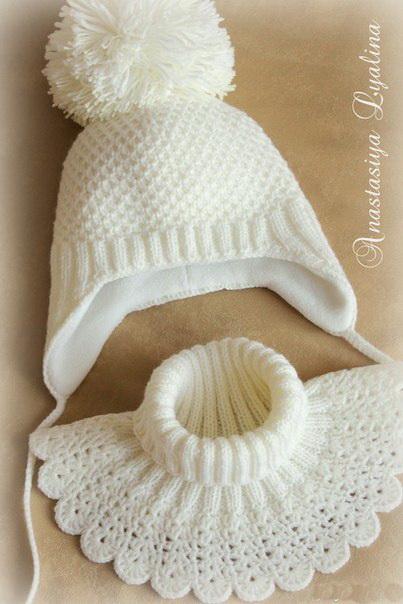 Для вязания шапочки нужны