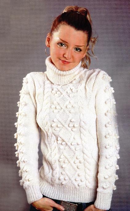Вязание описание кофт свитеров спицами 249