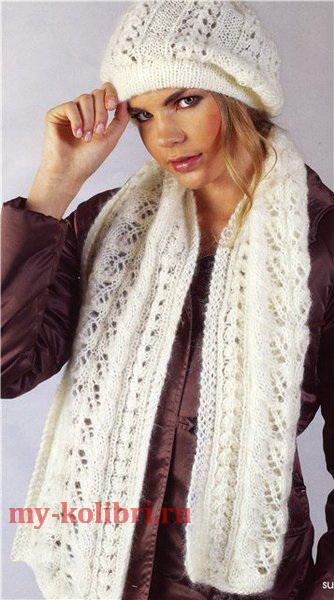 Схема вязания ажурного свитера спицами фото 374