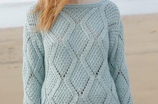 Простой узор для свитера схема фото 676