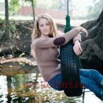 Стильный пуловер спицами Elbow Patches фото_8